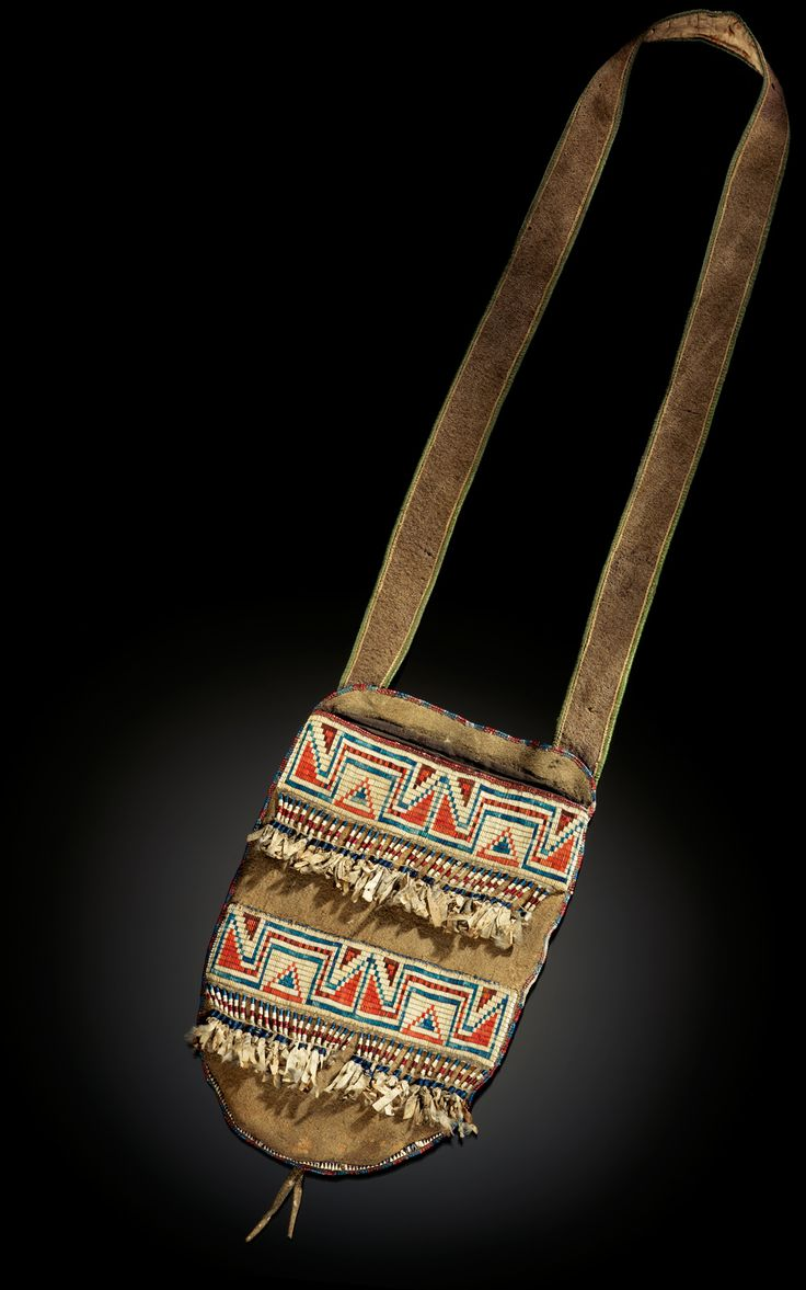 Infinity of Nations: Art and History in the Collections of the National Museum of the American Indian - George Gustav Heye Center, New York  1850 cree bag