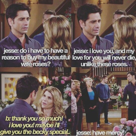Image result for fuller house jesse buys roses