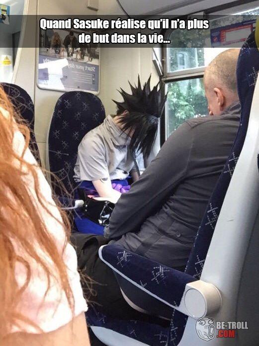 Sasuke une fois Naruto Shippuden terminé... - Be-troll - vidéos humour, actualité insolite