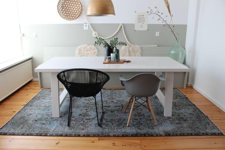 25 beste idee n over vintage tapijten op pinterest kelim tapijten turkse tapijten en boheems - Tapijt onder de eettafel ...