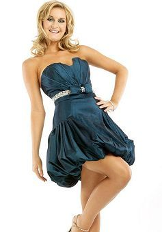 Brilliant Taffeta Sweetheart Ball Gown Spring & Summer Evening Party Gown - Lunadress.co.uk