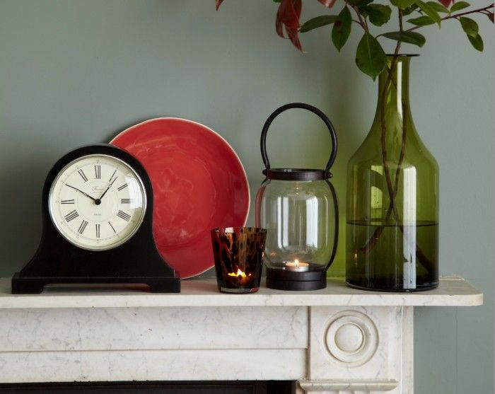 Accessorise your mantelpiece and stay up-to-date with a classic mantel clocks. For more ideas visit www.housebeautiful.co.uk/expert-advice/mantel-clocks/