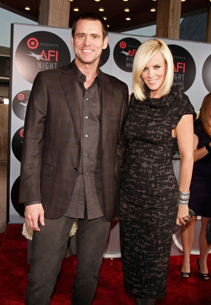 Pin for Later: Comedy Power Couples: 15 Pairs Whose Love Is Hilariously Sweet Jim Carrey and Jenny McCarthy The superstar comic actor and the outspoken talk show host dated for five years, until 2010.