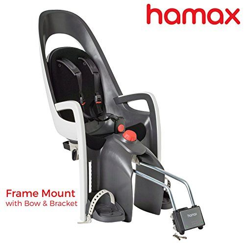 Hamax Caress Rear Child Bike Seat GreyWhite Frame Mount ** Want to know more, click on the image. This is an Amazon Affiliate links.