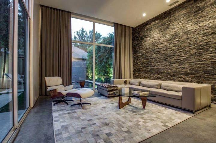 Natuursteen ledgers muurstrips tegen de muur de grote tegels aan de zijkant zijn keramische - Imitatie natuursteen muur tegel ...