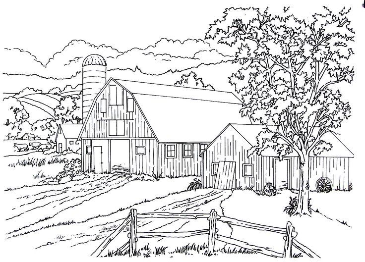 Related Image Farm Coloring Pages Horse Coloring Pages Coloring Pages