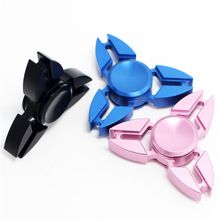 EDC Hand Spinner Fidget Spinner Anti Stress Focus Toy Aluminum Hand Spinner with Steel Bearing Hand Spinner for ADHD(China (Mainland))