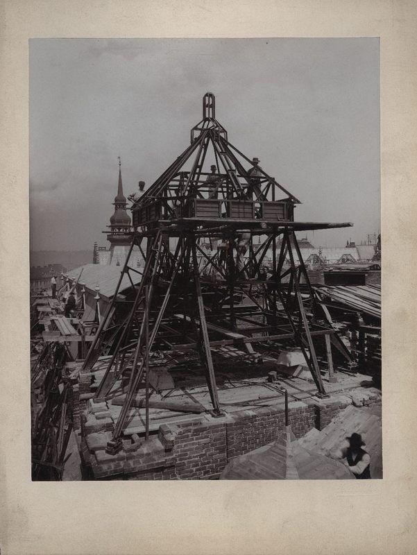 Josef Fiedler: Stavba Obecního domu, 19. 6. 1908