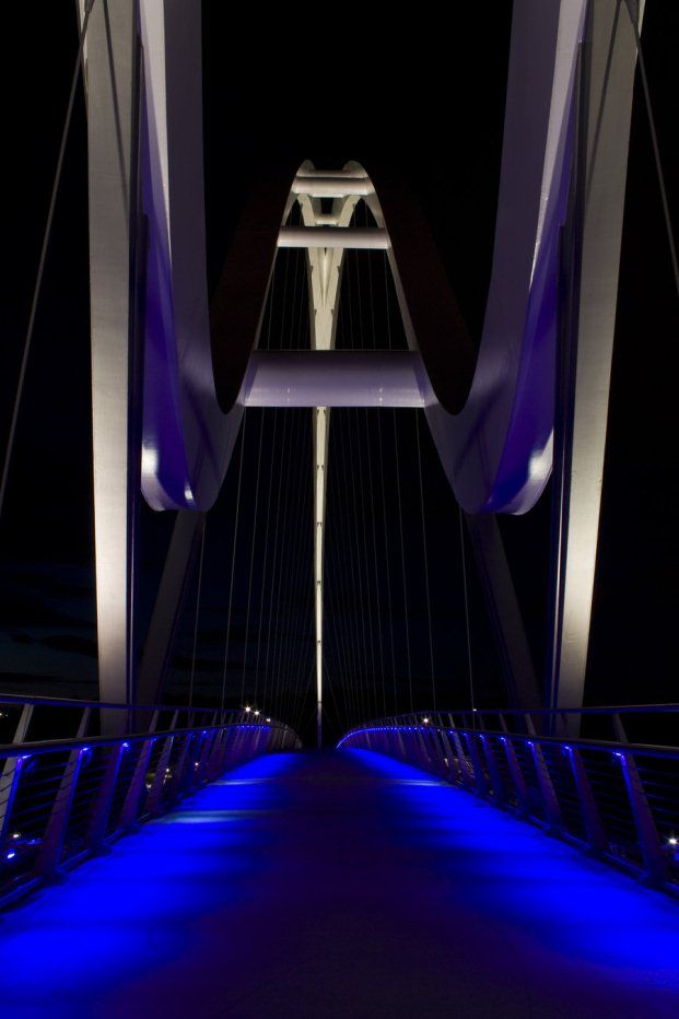 Infinity Bridge ~ Stockton-on-Tees, England