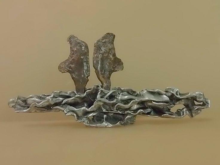 бойцовские рыбки 2015 бронза алюминий