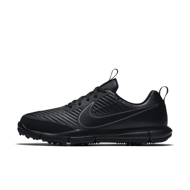 Nike Explorer 2 (Wide) Men's Golf Shoe Size 10.5 (Black)