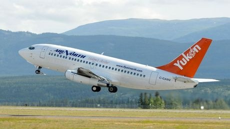 Air North to Yukon ~ Canadian 737