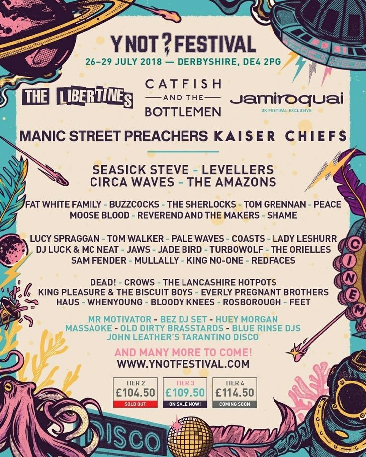 Y Not? Festival 2018 line up
