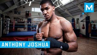 Anthony Joshua Conditioning Boxing Training   Muscle Madness