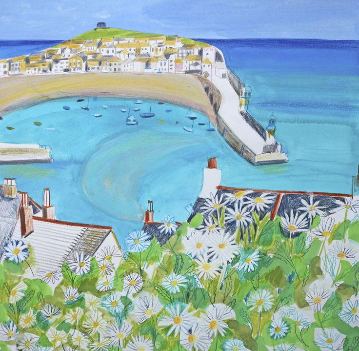 Jane Askey-英國美麗女畫家-令人驚嘆帶有花香的花卉.靜物和風景.為主體題材的繪畫作品。。。 - ☆平平.淡淡.也是真☆  - ☆☆。 平平。淡淡。也是真。☆☆ 。