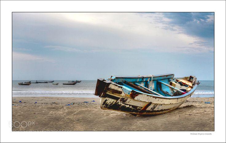 Popular on 500px : Boat Atlantische Oceaan by wwijers