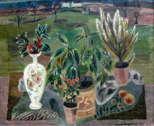 Francis Hodgkins Berries and Laurel c 1930