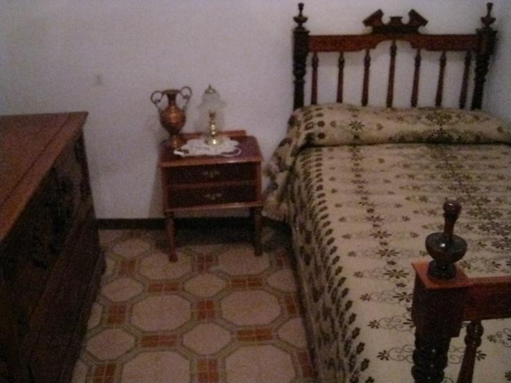 Dormitorio en la primera planta.