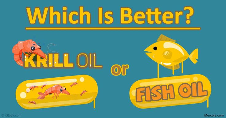 Krill oil is often compared to fish oil but there are for Is krill oil the same as fish oil