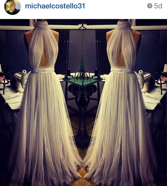 Michael Costello makes some of the most beautiful gowns I have ever seen. A girl can dream :)