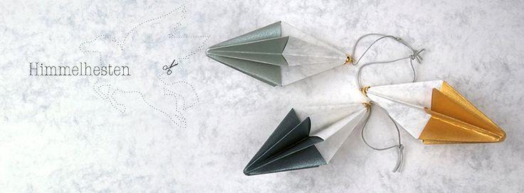 Paper Art produkter fra Himmelhesten er et mekka for dig, som sætter pris på et arkitektonisk æstetisk design-håndværk, og som elsker håndfoldet japansk papir-design med et skandinavisk twist - shop online hos Bæk & Kvist - www.houseofbk.com