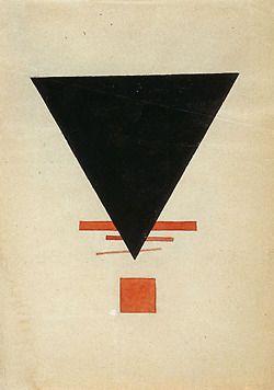 russianavantgarde:  Ilya Chashnik -Suprematism, 1920