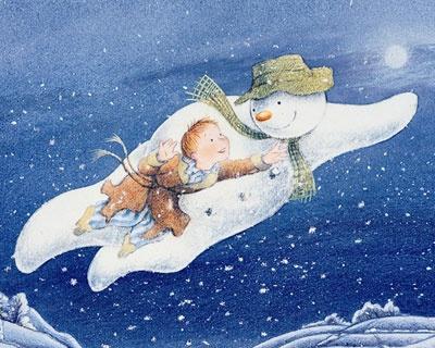 The Snowman on Christmas Eve.