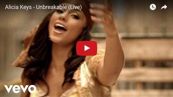 Watch: Alicia Keys - Unbreakable (Live) See lyrics here: http://aliciakeyslyric.blogspot.com/2010/07/unbreakable-lyrics-alicia-keys.html #lyricsdome