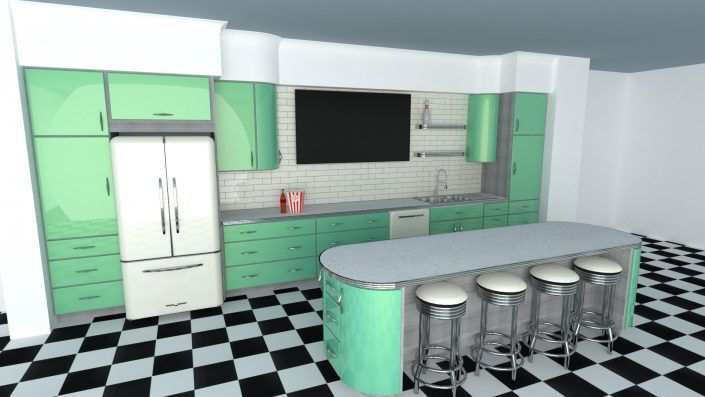 Toro Kitchen Cabinets Bowling Alley Kitchen In Upscale Residence Utah Kitchen Cabinets Metal Kitchen Cabinets Kitchen Cabinet Door Styles