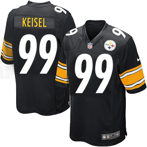 nike limited youth pittsburgh steelers 99 brett keisel team color black nfl jersey69.99