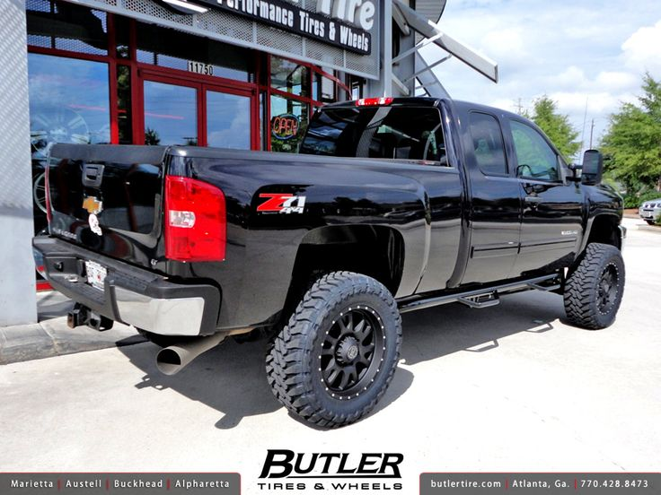 2012 Silverado 2500 Lifted snorkel | Chevy Silverado 2500HD with 20in Black Rhino Lucerne Wheels and 6in ...