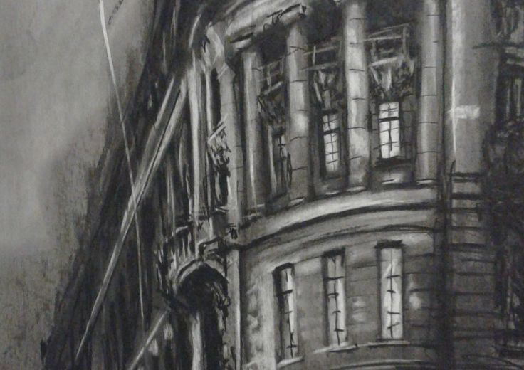 Out into the shadows (detail)