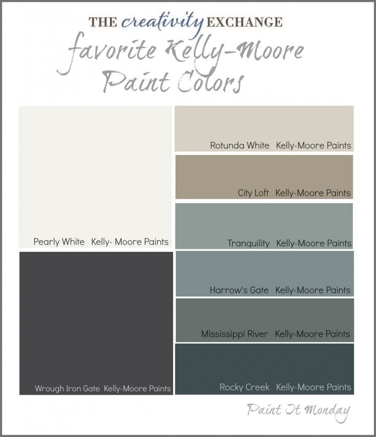 Favorite Kelly-Moore Paint Colors {Paint It Monday} The Creativity Exchange