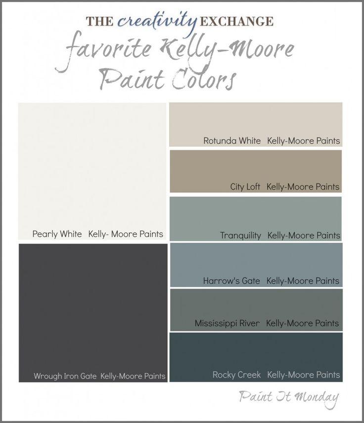 Favorite Kelly-Moore Paint Colors {Paint It Monday} The Creativity Exchange