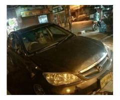 Honda civic 2005 automatic for sale in good price