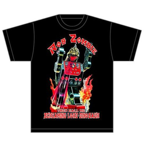 Rob Zombie Men's Tee: Lord Dinosaur Wholesale Ref:RZTEE03MB