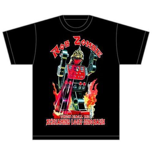 Rob Zombie Men's Tee: Lord Dinosaur Wholesale Ref:RZTEE03MB