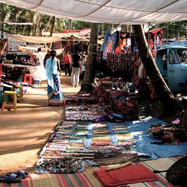 Anjuna Fleamarket, Goa, India