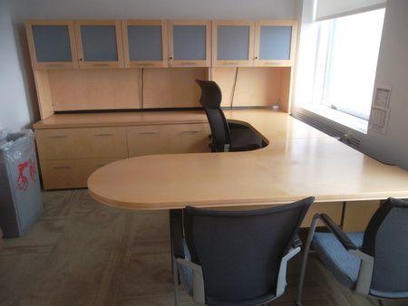 Executive Desk Sets | Conklin Office Furniture   D2831   Haworth Executive  Desk Sets
