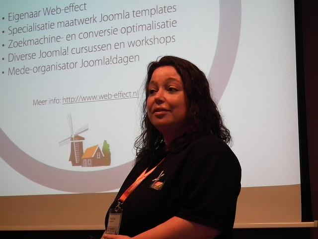Presentatie Joomla 2.5 features tijdens de Joomla!dagen 2012