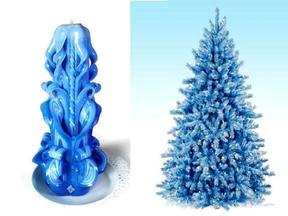 Handemade candle, Carved Candle, Blue candle by monnacandles. Explore more products on http://monnacandles.etsy.com