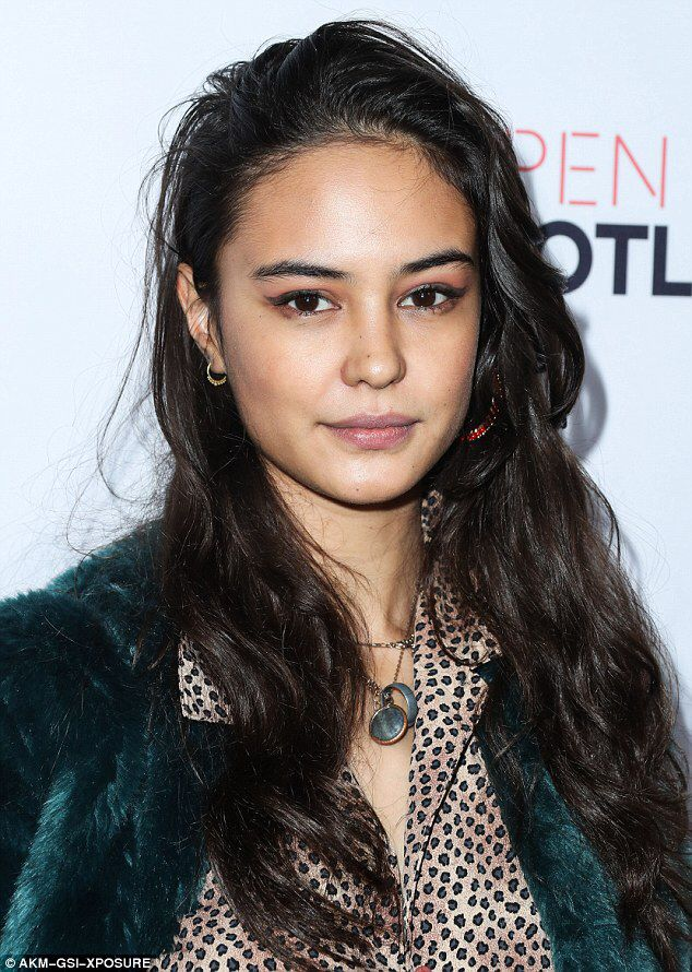 Mad Max star Courtney Eaton stuns in animal inspired ensemble #dailymail