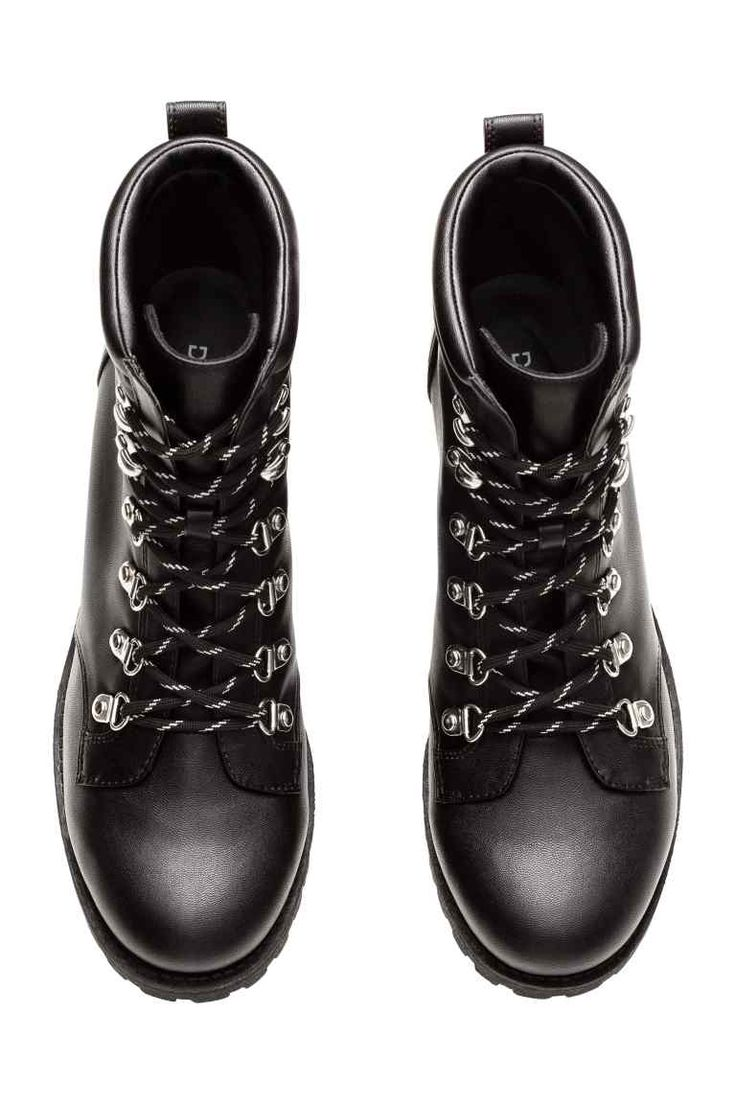 Chunky-soled ankle boots | H&M