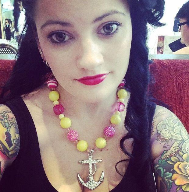 Gumballs necklace