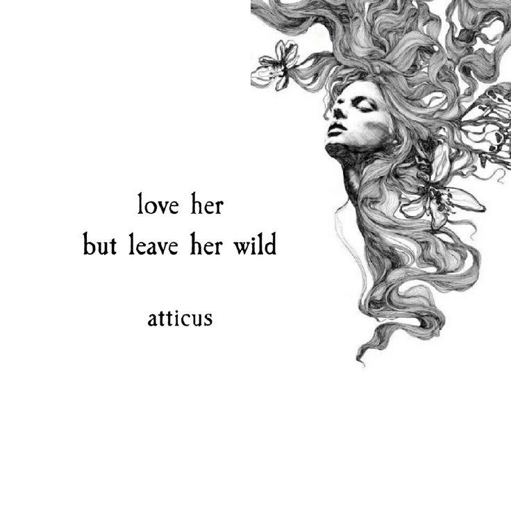 'Wild Forever' #atticuspoetry #atticus #wild #forever