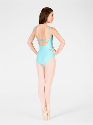 """Free Shipping - """"Calista"""" Adult Double Strap Camisole Leotard by WEAR MOI"""