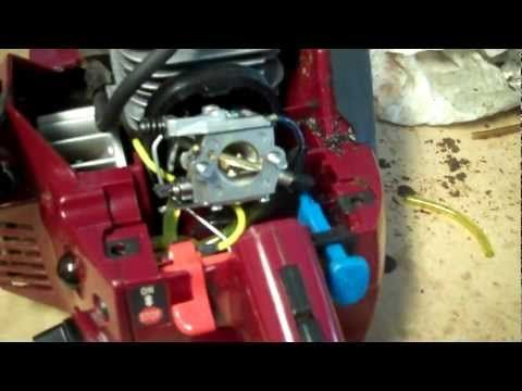 Chainsaw Fuel Line Replacement - YouTube