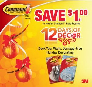 #Coupon - Save $1 on any Command Products