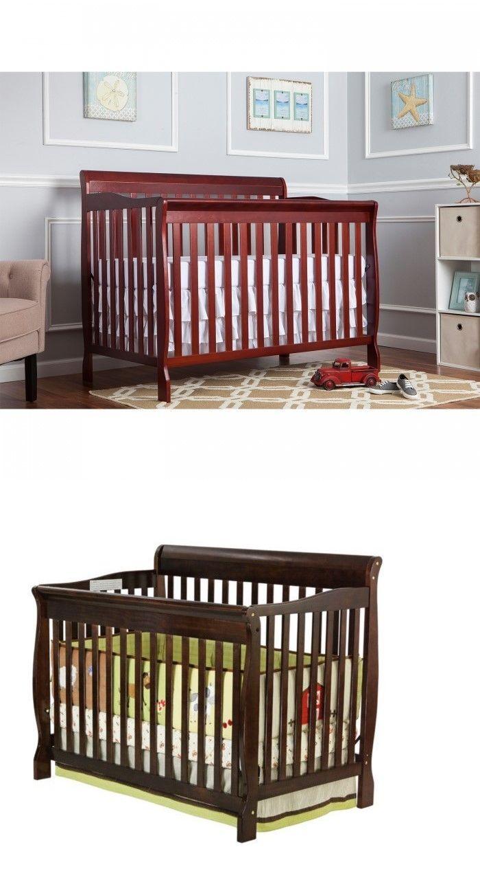 Nursery Furniture 20422 Dream On Me Ashton 5 In 1 Convertible Crib Espresso It Now Only 125 Ebay