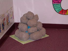 "A ""BLAST from the PAST!!!""        I made these ""ROCKS"" a LONG time ago.  And, they have been used for so many Bible Lessons.   They may n..."